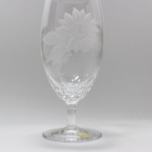 大倉陶園×カガミクリスタル 12カ月グラス 8月ピルスナーグラス 向日葵 i-matsumoto 06