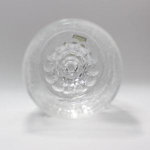 大倉陶園×カガミクリスタル 12カ月グラス 8月ピルスナーグラス 向日葵 i-matsumoto 07