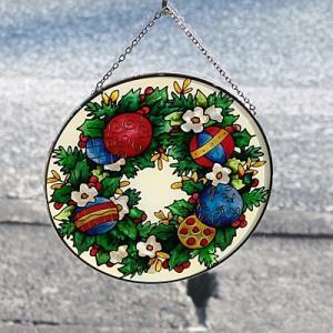 JOAN BAKER  サンキャッチャー L円型 クリスマスデコレーション|i-matsumoto