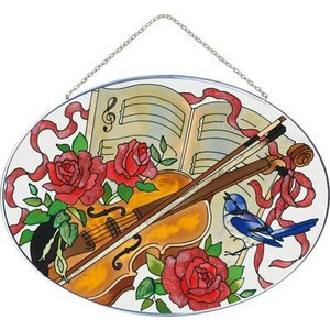 JOAN BAKER  サンキャッチャー L楕円型 バイオリン|i-matsumoto