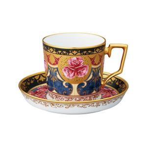 ノリタケ食器オマージュ コレクション コーヒー碗皿(色絵薔薇文)|i-matsumoto