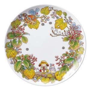 ノリタケ食器 となりのトトロ 23cmプレート(がまずみ編)|i-matsumoto