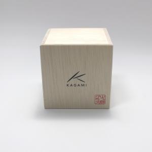大倉陶園×カガミクリスタル 12カ月グラス 2月冷酒杯 椿|i-matsumoto|07