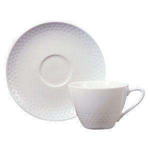 ノリタケ 食器  リズモホワイト ティー・コーヒー碗皿|i-matsumoto