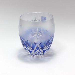 大倉陶園×カガミクリスタル 12カ月グラス 12月ロックグラス 雪うさぎ|i-matsumoto|02