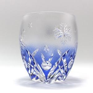 大倉陶園×カガミクリスタル 12カ月グラス 12月ロックグラス 雪うさぎ|i-matsumoto|04