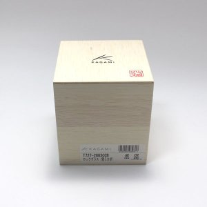 大倉陶園×カガミクリスタル 12カ月グラス 12月ロックグラス 雪うさぎ|i-matsumoto|06