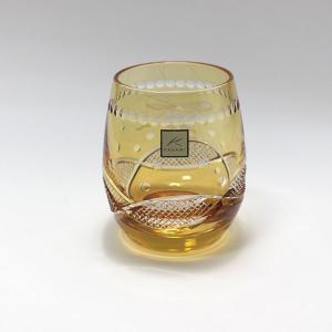 大倉陶園×カガミクリスタル 12カ月グラス 9月ロックグラス 月うさぎ|i-matsumoto