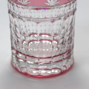 大倉陶園×カガミクリスタル 12カ月グラス 10月ロングタンブラー 紅葉 i-matsumoto 04