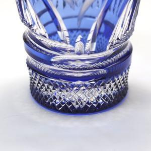 大倉陶園×カガミクリスタル 12カ月グラス 5月冷酒杯 杜若(カキツバタ)|i-matsumoto|03