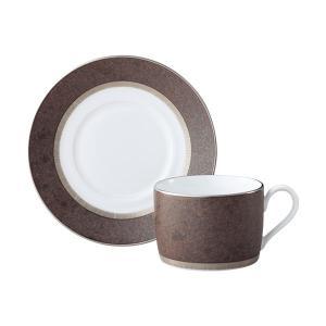 ノリタケ食器 クリフ ティー・コーヒー碗皿|i-matsumoto