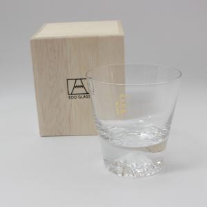 田島硝子 富士山グラス ロックグラス|i-matsumoto