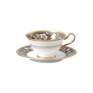 ノリタケ 食器 サブライム ティー・コーヒー碗皿(墨色)|i-matsumoto