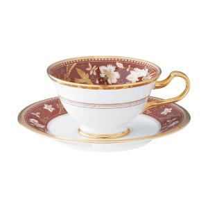 ノリタケ 食器 サブライム ティー・コーヒー碗皿(海老茶)|i-matsumoto