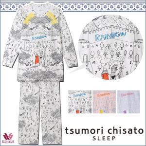 パジャマ ツモリチサト ワコール レディース tsumori chisato SLEEP ドロシー線画 長袖 UDO112 送料無料|i-may