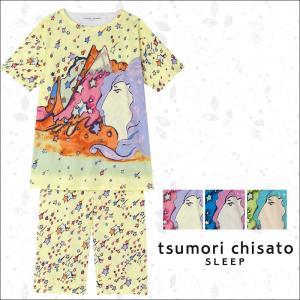 パジャマ ツモリチサト ワコール レディース tsumori chisato SLEEP マウンテンビーナス+ポイント星柄 UDP317 送料無料|i-may