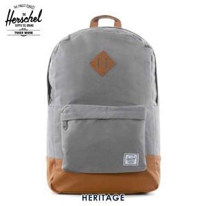 ハーシェル バッグ 正規販売店 Herschel Supply ハーシェルサプライ バッグ Heritage 20L H-121-29-02-OS グレー ハーシェル|i-mixon