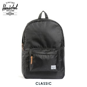 ハーシェル バッグ 正規販売店 Herschel Supply ハーシェルサプライ バッグ 10001-00088-OS Classic Rip Stop Black i-mixon