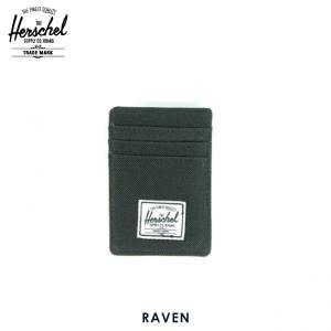 ハーシェル カードケース 正規販売店 Herschel Supply ハーシェルサプライ 10048-00001-OS Raven Black カードホルダー D15|i-mixon