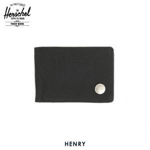 ハーシェル 財布 正規販売店 Herschel Supply ハーシェルサプライ ウォレット 10043-00087-OS Henry Black 財布|i-mixon