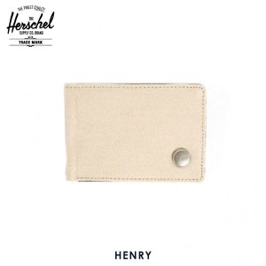 ハーシェル 財布 正規販売店 Herschel Supply ハーシェルサプライ ウォレット 10043-00013-OS Henry Natural 財布|i-mixon