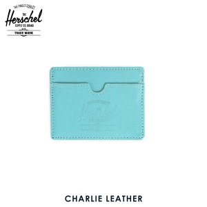 ハーシェル サプライ Herschel Supply 正規販売店 10045-00036-OS Charlie Leather Teal Pe|i-mixon