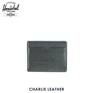 ハーシェル サプライ Herschel Supply 正規販売店 10045-00004-OS Charlie Leather Black P|i-mixon