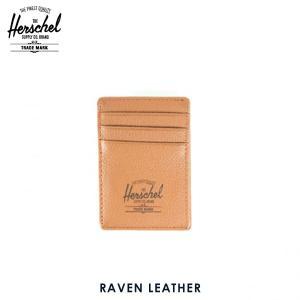 ハーシェル サプライ Herschel Supply 正規販売店 10048-00034-OS Raven Leather Tan Pebbl|i-mixon