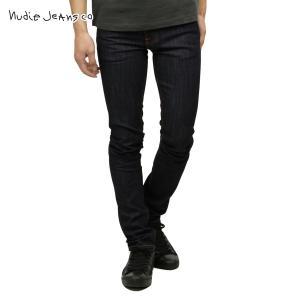 ヌーディージーンズ シンフィン メンズ Nudie Jeans 正規販売店 Thin Finn Organic Dry Ecru Emb 559 1102680|i-mixon