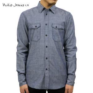 ヌーディージーンズ ジャケット メンズ 正規販売店 Nudie Jeans アウター デニムシャツ Gunnar 140104 D15S25|i-mixon