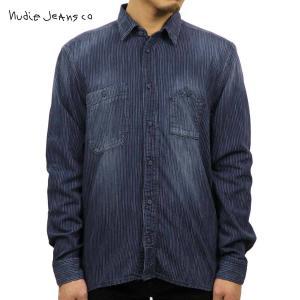 ヌーディージーンズ ジャケット メンズ 正規販売店 Nudie Jeans アウター デニムシャツ Joakim 140190 Indigo D15S25|i-mixon