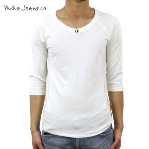 ヌーディージーンズ Tシャツ メンズ Nudie Jeans 七分 Quarter Sleeve Tee 131004 O|i-mixon