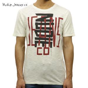 ヌーディージーンズ Tシャツ メンズ Nudie Jeans 半袖 Round Neck T-Shirt 131268 O|i-mixon