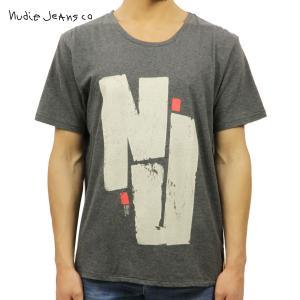 ヌーディージーンズ Tシャツ メンズ Nudie Jeans 半袖 Round Neck T-Shirt 131260 G|i-mixon