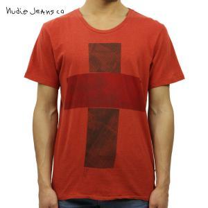 ヌーディージーンズ Tシャツ メンズ Nudie Jeans 半袖 Round Neck T-Shirt 131265 R|i-mixon