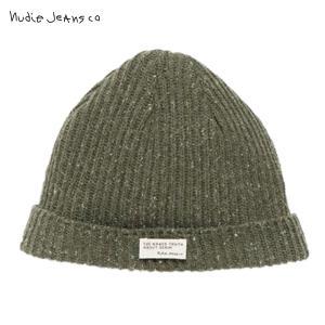 ヌーディージーンズ 帽子 ニットキャップ メンズ Nudie Jeans Nicholson Beanie Rib Gre i-mixon