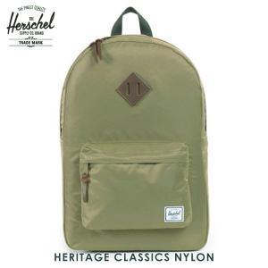 ハーシェル バッグ 正規販売店 Herschel Supply ハーシェルサプライ バッグ Heritage Classics - Nylon 10007-00589-OS Fern i-mixon