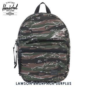 ハーシェル バッグ 正規販売店 Herschel Supply ハーシェルサプライ バックパック LAWSON BACKPACK SURPLUS 10179-01386-OS TIGER CAMO i-mixon