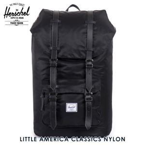 ハーシェル バッグ 正規販売店 Herschel Supply ハーシェルサプライ バッグ Little America Classics - Nylon 10014-00587-OS Black i-mixon