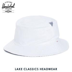 ハーシェル ハット 正規販売店 Herschel Supply ハーシェルサプライ 帽子 Lake S/M Classics Headwear 1025-0052-SM White/Navy Gingham i-mixon