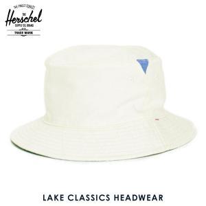 ハーシェル ハット 正規販売店 Herschel Supply ハーシェルサプライ 帽子 Lake S/M Classics Headwear 1025-0053-SM Natural/Chambray i-mixon