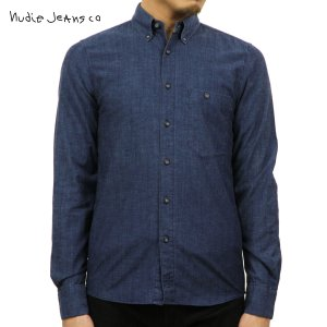 ヌーディージーンズ シャツ メンズ Nudie Jeans 長袖 Stanley 140277 3005 B26 Deni|i-mixon