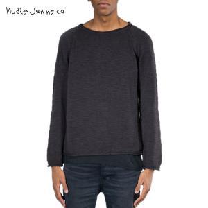 ヌーディージーンズ セーター メンズ Nudie Jeans Vladimir Cotton Linen 150191 6|i-mixon