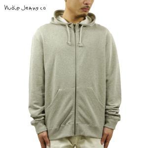 ヌーディージーンズ パーカー メンズ Nudie Jeans Zip Hood 150181 4017 B46 Lt Gr|i-mixon