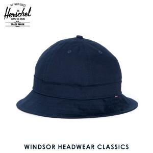 ハーシェル ハット 正規販売店 Herschel Supply ハーシェルサプライ 帽子 Windsor HEADWEAR CLASSICS 1029-0004-OS Navy i-mixon