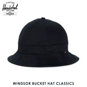 ハーシェル ハット 正規販売店 Herschel Supply ハーシェルサプライ 帽子 WINDSOR BUCKET HAT CLASSICS 102 i-mixon