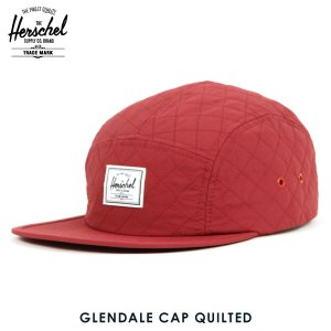 ハーシェル キャップ 正規販売店 Herschel Supply ハーシェルサプライ GLENDALE CAP QUILTED 1007-0299-OS WINDSOR WINE QUILTED i-mixon
