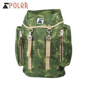 ポーラー POLER 正規品 バックパック リュックサック RUCKSACK 532008-GCO GREEN CAMO|i-mixon
