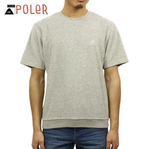 ポーラー スウェット メンズ 正規販売店 POLER トレーナー TERRY FLYNT FLEECE SHIRT 611144-GR|i-mixon