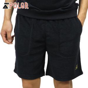 ポーラー ショートパンツ メンズ 正規販売店 POLER ボトムス TERRY FLYNT SHORT 611152-BLU BLU|i-mixon